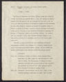 Miscellaneous correspondence (Box 2, Folder 1)